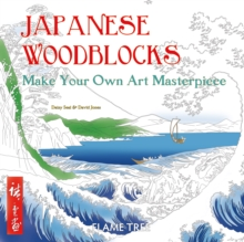 Japanese Woodblocks (Art Colouring Book) : Make Your Own Art Masterpiece, Paperback / softback Book