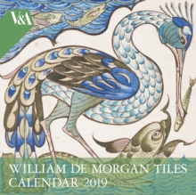 V&A - William de Morgan Wall Calendar 2019 (Art Calendar), Calendar Book