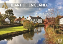Heart Of England A4 2019, Paperback Book