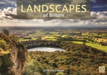 Landscapes of Britain A4 2019, Paperback Book
