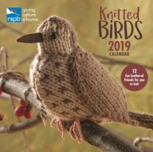 Knitted Birds, RSPB W 2019, Paperback Book