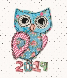 Fashion Diary Owl Sq Pkt D 2019, Paperback Book