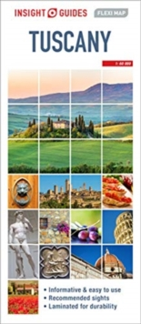 Insight Guides Flexi Map Tuscany, Sheet map Book