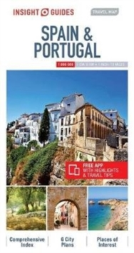 Insight Guides Travel Map of Spain & Portugal, Sheet map Book