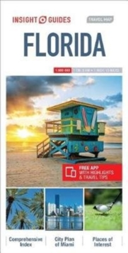 Insight Guides Travel Map Florida, Sheet map Book