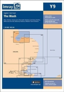 Imray Chart Y9 : The Wash, Paperback Book
