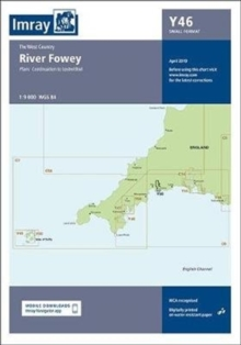 Imray Chart Y46 : River Fowey (Small Format), Sheet map, folded Book