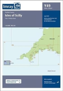 Imray Chart Y49 : Isles of Scilly (Small Format), Sheet map, folded Book