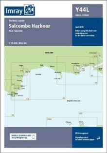 Imray Chart Y44 Salcombe Laminated : Laminated Y44 Salcombe (Small Format), Sheet map, flat Book