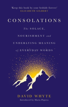 Consolations : The Solace, Nourishment and Underlying Meaning of Everyday Words, Hardback Book