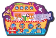 Jigsaw Puzzle: Noah's Ark - A Bible Jigsaw and Story Book : 250 x 205 x 80, Book Book