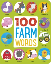 First 100 Farm Animals, Hardback Book