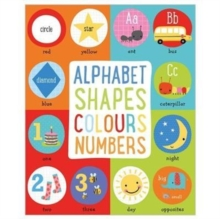 Alphabet, Shapes, Colours, Numbers, Board book Book