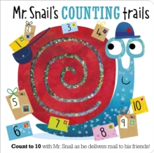 Mr. Snail's Counting Trails, Board book Book