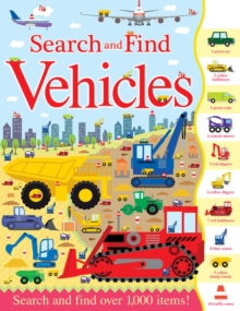 Search and Find Vehicles, Paperback Book