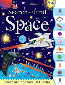 Search and Find Space, Paperback Book