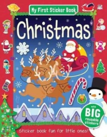 CHRISTMAS STICKER BOOK, Paperback Book