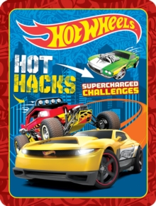 Hot Wheels Hot Hacks Supercharged Challenges, Kit Book