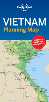 Lonely Planet Vietnam Planning Map, Sheet map, folded Book