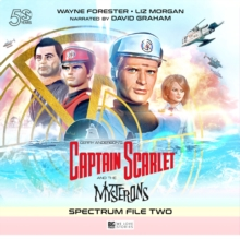 Captain Scarlet and the Mysterons : The Spectrum File No. 2, CD-Audio Book
