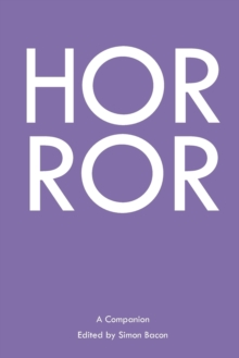 Horror : A Companion, Paperback / softback Book