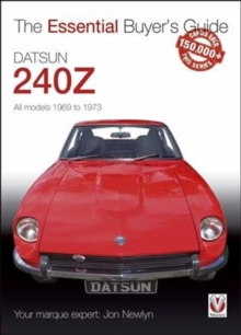 Datsun 240Z 1969 to 1973, Paperback Book