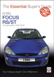 Ford Focus Mk1 RS & ST170 : First generation 2002 to 2005, Paperback / softback Book