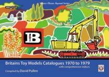 Britains Toy Models Catalogues 1970-1979, Paperback / softback Book