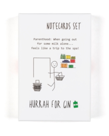 Hurrah For Gin: Notecard Set, Other printed item Book