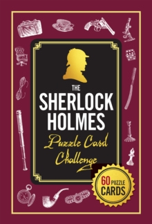 Puzzle Cards: Sherlock Holmes, Mixed media product Book