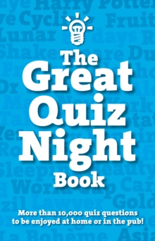 The Great Quiz Night Book, Paperback Book