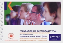FAU Foundations in Audit (INT&UK) - Pocket Notes, Paperback Book
