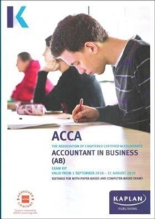 ACCOUNTANT IN BUSINESS (AB) - EXAM KIT, Paperback / softback Book