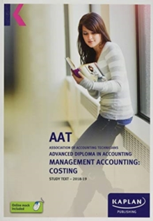MANAGEMENT ACCOUNTING: COSTING, Paperback / softback Book