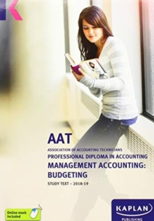 MANAGEMENT ACCOUNTING:BUDGETING - STUDY TEXT, Paperback / softback Book