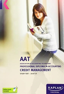 CREDIT MANAGEMENT - STUDY TEXT, Paperback / softback Book
