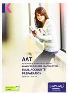FINAL ACCOUNTS PREPARATION - EXAM KIT, Paperback / softback Book