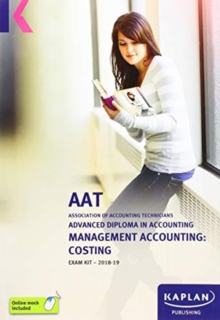 MANAGEMENT ACCOUNTING: COSTING - EXAM KIT, Paperback / softback Book
