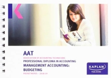 MANAGEMENT ACCOUNTING:BUDGETING - POCKET NOTES, Paperback / softback Book