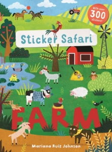 Sticker Safari: Farm, Paperback / softback Book
