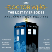 Doctor Who: The Lost TV Episodes Collection One 1964-1965 : Narrated full-cast TV soundtracks, eAudiobook MP3 eaudioBook