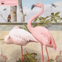 Flamingoes Wall Calendar 2019 (Art Calendar), Calendar Book