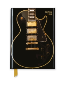 Black Gibson Guitar Pocket Diary 2019, Diary Book