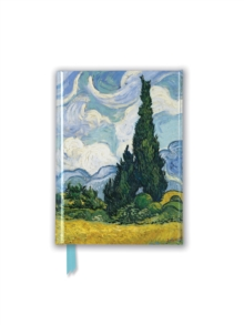 Vincent Van Gogh: Wheat Field with Cypresses (Foiled Pocket Journal), Notebook / blank book Book