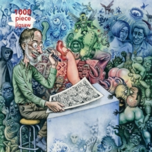Adult Jigsaw Puzzle R. Crumb: Who's Afraid of Robert Crumb? : 1000-piece Jigsaw Puzzles, Jigsaw Book