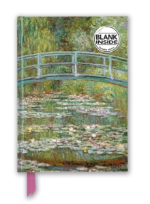 Claude Monet: Bridge over a Pond for Water Lilies (Foiled Blank Journal), Notebook / blank book Book