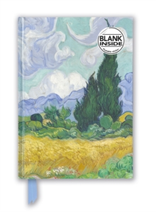 Vincent van Gogh: Wheat Field with Cypresses (Foiled Blank Journal), Notebook / blank book Book
