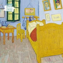 Adult Jigsaw Puzzle Vincent van Gogh: Bedroom at Arles : 1000-piece Jigsaw Puzzles, Jigsaw Book