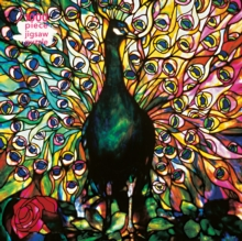 Adult Jigsaw Puzzle Louis Comfort Tiffany: Displaying Peacock : 1000-piece Jigsaw Puzzles, Jigsaw Book