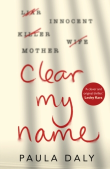 Clear My Name, Hardback Book